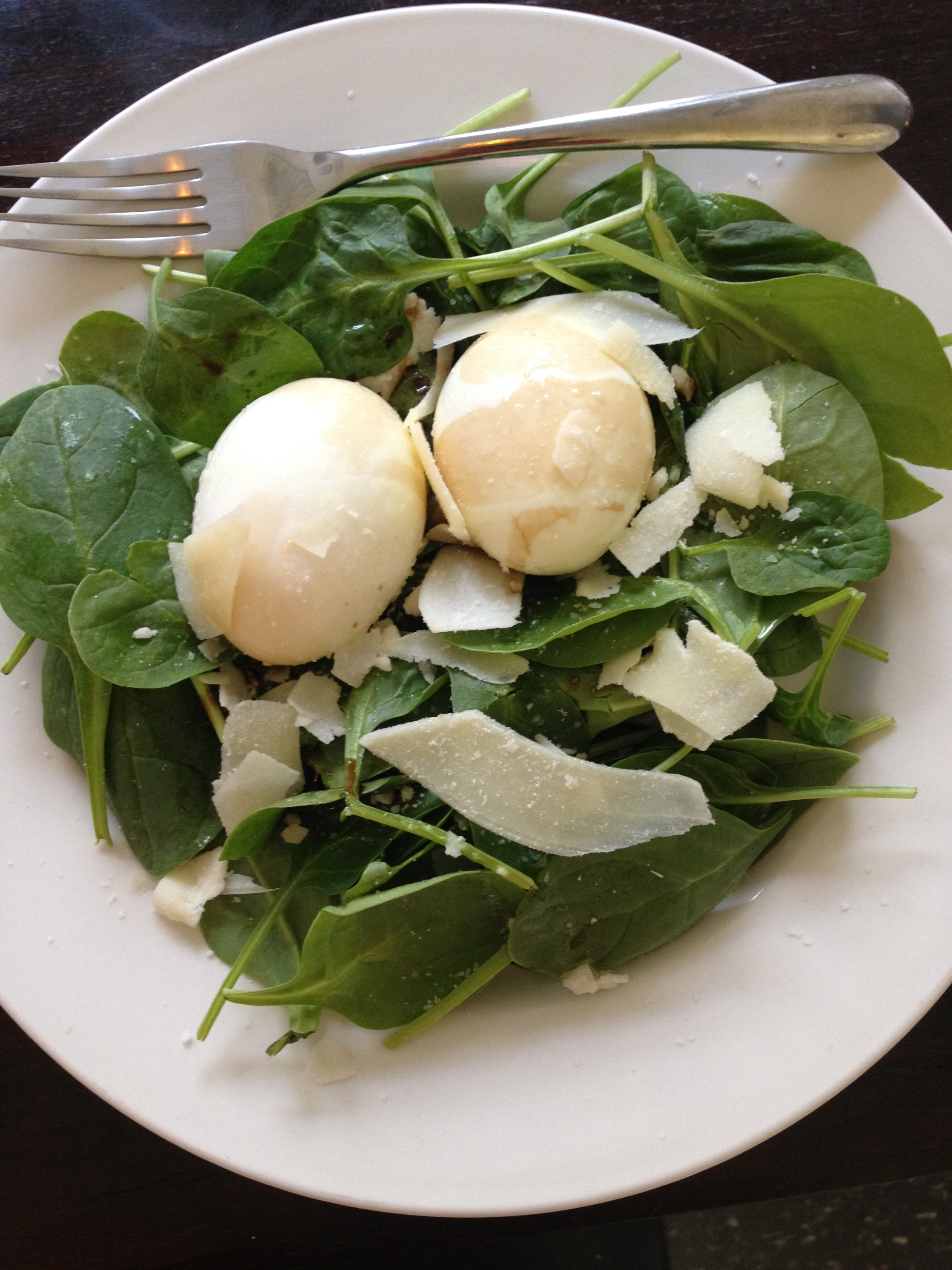 If You Need An Onthego Salad For Work, Opt For Hard Boiled Eggs Instead  €� Feel Free To Switch Out Spinach For Other Healthy Greens Like
