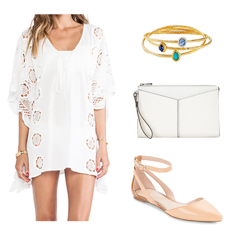 Wear White After Labor Day - Outfit 1