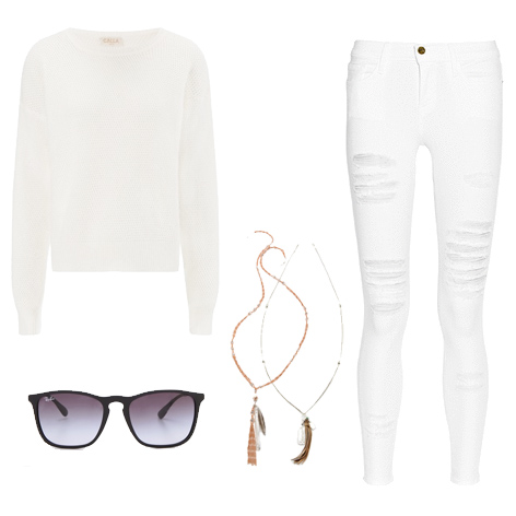 Wear White After Labor Day - Outfit 3