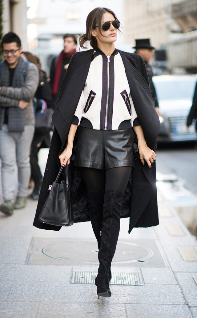 Street Style Game Before the VS Fashion Show
